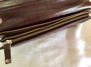 財布のファスナーお直しアフター
