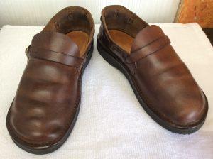 ヌメ革婦人靴アフター