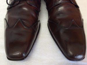 メンズ革靴のお手入れアフター