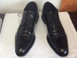 メンズ革靴メンテナンスアフター