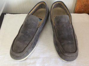 スエード紳士靴クリーニングアフター