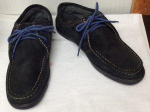 スエード革靴クリーニングアフター