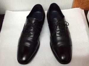 紳士革靴のお手入れアフター