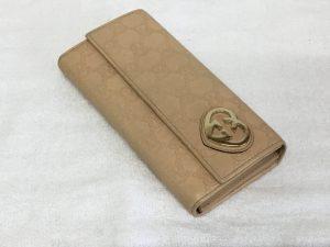 革財布のお手入れアフター