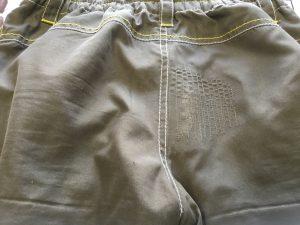 子供ズボンの擦り切れ修理アフター