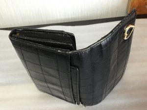 革財布の色ハゲビフォー