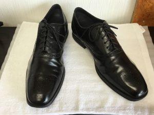 紳士革靴のメンテナンスアフター