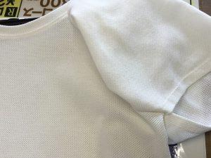 綿ブラウスの汗じみ復元シミ抜きアフター