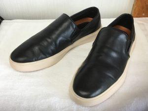 メンズ革靴洗いアフター