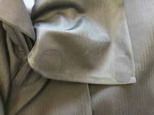 スラックスのポケット中袋穴修理アフター