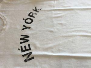 Tシャツのシミ抜きアフター