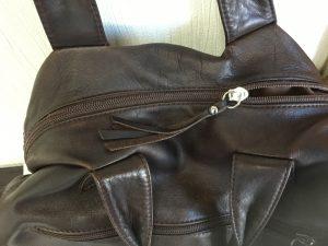 レディースバッグのファスナーお困り事アフター