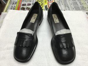 レディース革靴の復活アフター