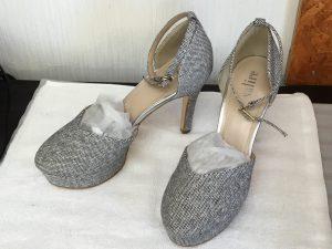 布地レディース靴の洗いアフター