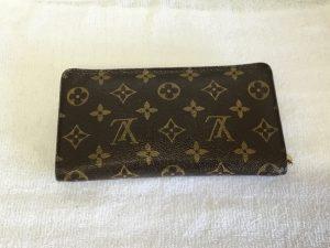 ルイ・ヴィトン財布お手入れアフター