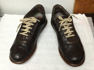 革靴の色ハゲ補修アフター