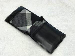 二つ折り財布のお手入れアフター