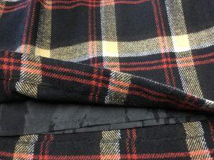 スカートの裾ほつれ修理アフター