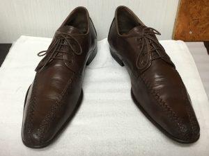 紳士革靴メンテナンスアフター