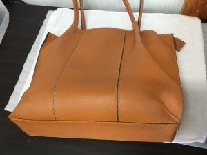 愛用のバッグお手入れアフター