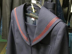 学生服お急ぎクリーニングアフター