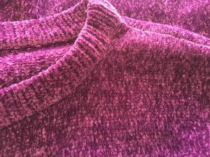セーターの擦り切れ破れ修理アフター