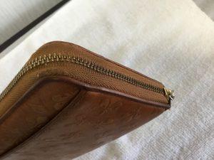 財布のチャック修理アフター
