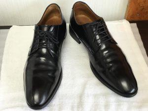 紳士革靴もクリーニングアフター