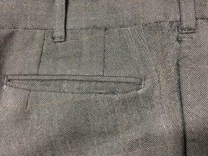 スラックスのポケット擦り切れ修理アフター