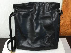 婦人バッグのカビ処理アフター