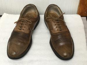 紳士革靴も元気に!アフター