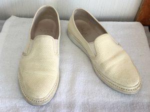 レディース革靴クリーニングビフォー