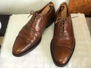 革靴もクリーニングでリフレッシュアフター