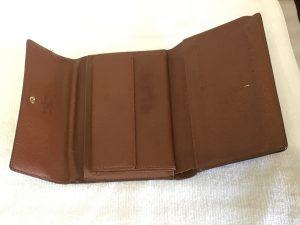 財布の一部色ハゲ補修アフター