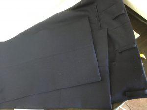 学生ズボンの裾出しアフター