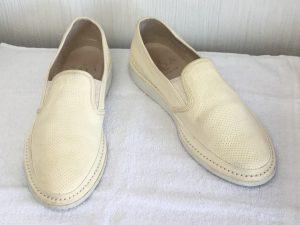 レディース革靴クリーニングアフター