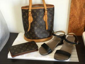 バッグや財布やサンダルのお手入れアフター