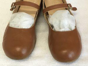 レディースヌメ革靴のお手入れアフター