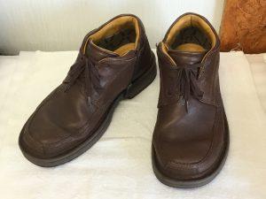 紳士革靴クリーニングビフォー