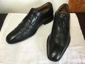 紳士革靴スッキリ仕上がりアフター
