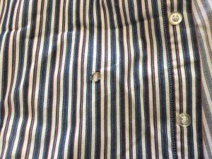 シャツの焦げ穴トラブルビフォー