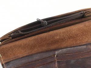 財布の小銭入れファスナートラブルビフォー