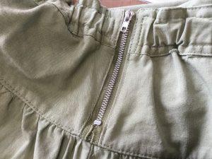 スカートのファスナートラブルアフター