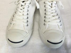 プロ洗い白いスニーカーアフター