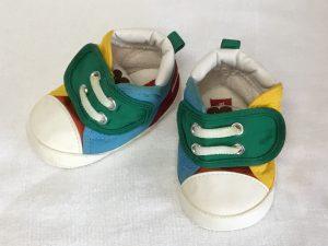 赤ちゃん靴クリーニングビフォー