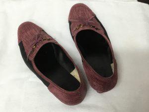 レディース靴の中敷交換アフター