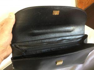合成皮革バッグの経年劣化アフター