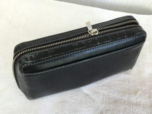 財布のファスナーと色ハゲビフォー