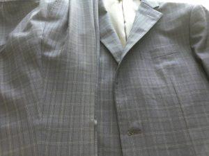 スーツにカビが生えてしまったアフター