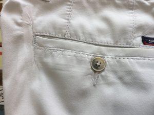 綿スラックス破れ修理アフター